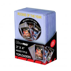 Ultra Pro 3x4 Gold Foil Mixed Title Top Loaders - 25pk | Eastridge Sports Cards