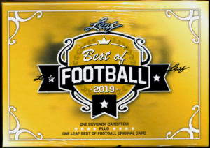 2019 Leaf Best Of Football Hobby Box | Eastridge Sports Cards