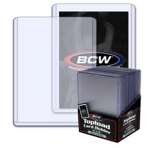 BCW Thick Card Topload Holders - 79 PT. (2mm) 25ct | Eastridge Sports Cards