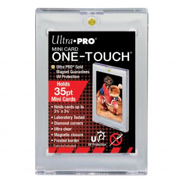 Ultra Pro Mini Card UV ONE-TOUCH Magnetic Holder | Eastridge Sports Cards