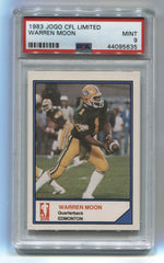 1983 JOGO CFL Limited Warren Moon PSA 9 | Eastridge Sports Cards