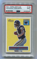 2001 Topps Heritage #136 LaDainian Tomlinson PSA 9 (Rookie) #1149/1956 | Eastridge Sports Cards