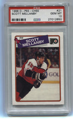 1988-89 O-Pee-Chee #21 Scott Mellanby PSA 10 (Rookie) | Eastridge Sports Cards