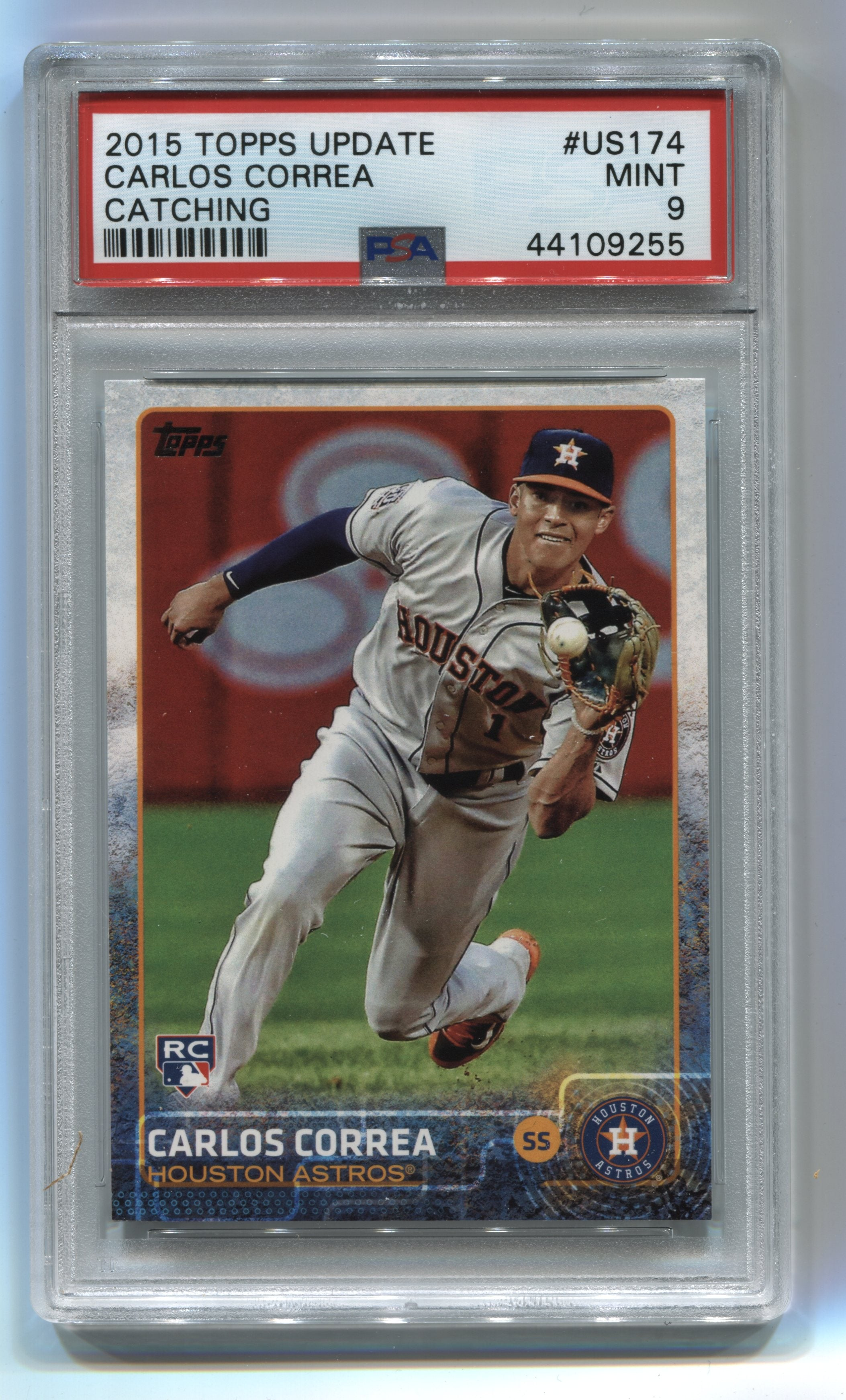 2015 Topps Update #US174 Carlos Correa PSA 9 (Rookie) | Eastridge Sports Cards