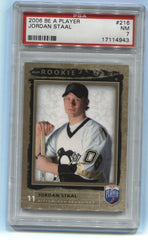 2006-07 Be A Player #216 Jordan Staal #588/999 PSA 7 (Rookie) | Eastridge Sports Cards