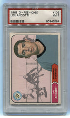 1968-69 O-Pee-Chee #103 Lou Angotti PSA 7 | Eastridge Sports Cards