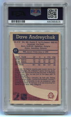 1984-85 O-Pee-Chee #17 Dave Andreychuk PSA 7 (Rookie) | Eastridge Sports Cards
