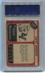1968-69 O-Pee-Chee #157 Dave Amadio PSA 8 (Rookie) | Eastridge Sports Cards