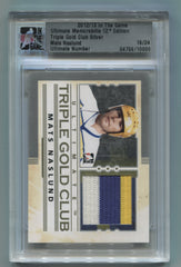 2012-13 ITG Ultimate Memorabilia Triple Gold Club Jerseys Mats Naslund #16/24 | Eastridge Sports Cards