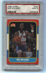 1986-87 Fleer #124 Gus Williams PSA 9 | Eastridge Sports Cards