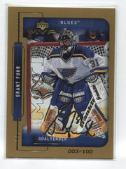 1999-00 Upper Deck MVP Gold Script #185 Grant Fuhr #/100 | Eastridge Sports Cards