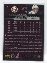 1999-00 Upper Deck Exclusives #84 Kenny Jonsson #/100 | Eastridge Sports Cards