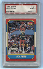 1986-87 Fleer #102 Jack Sikma PSA 9 | Eastridge Sports Cards