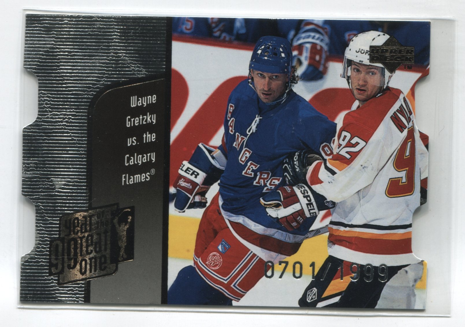 1998-99 Upper Deck Year of the Great One Quantum 1 #GO5 Wayne Gretzky #/1999 | Eastridge Sports Cards
