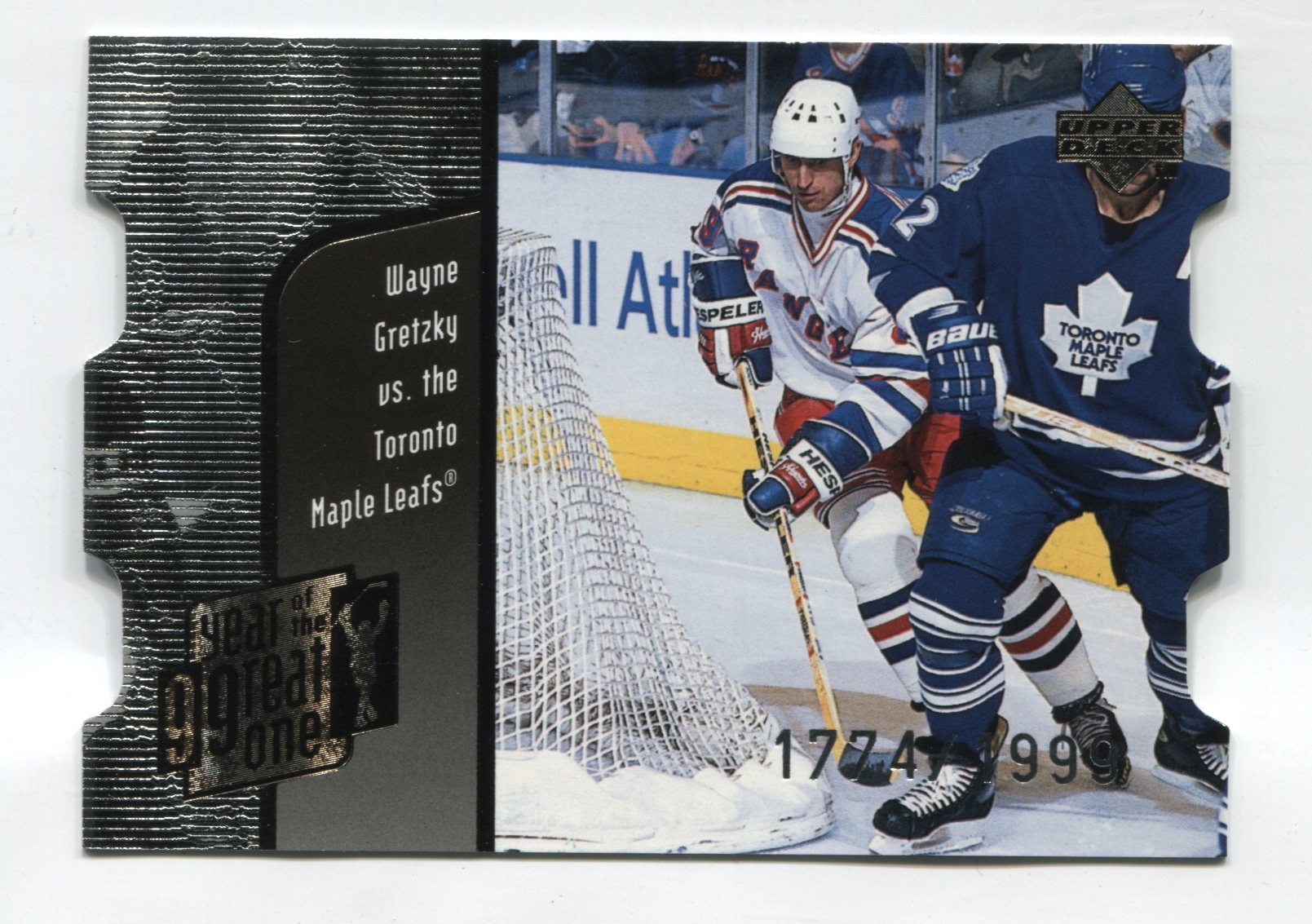 1998-99 Upper Deck Year of the Great One Quantum 1 #GO25 Wayne Gretzky #/1999 | Eastridge Sports Cards
