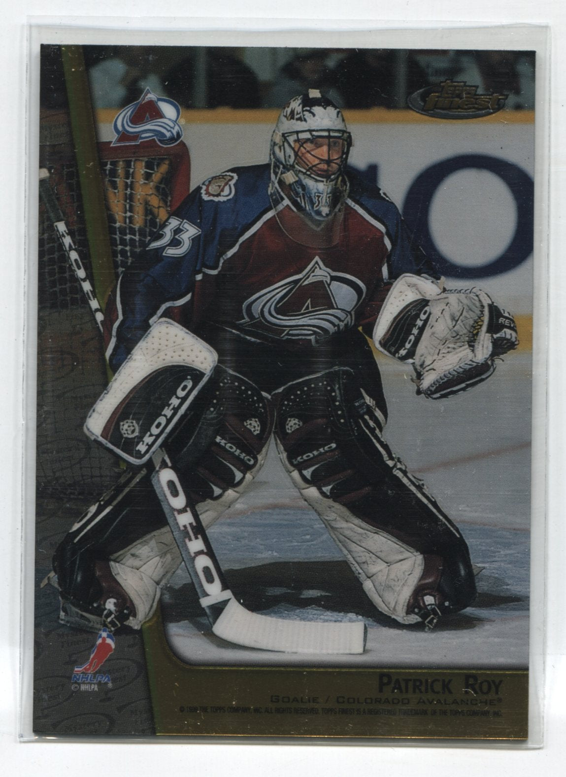 1998-99 Finest Double Sided Mystery Finest #M28 Patrick Roy/Joe Sakic | Eastridge Sports Cards