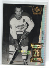 1999-00 Upper Deck Century Legends Century Collection #28 Henri Richard #035/100 | Eastridge Sports Cards