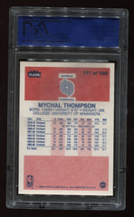 1986-87 Fleer #111 Mychal Thompson PSA 9 | Eastridge Sports Cards