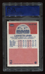 1986-87 Fleer #63 Lafayette Lever PSA 9 (Rookie) | Eastridge Sports Cards