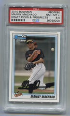 2010 Bowman Draft Prospects #BDPP80 Manny Machado PSA 8.5 | Eastridge Sports Cards