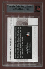 2007-08 ITG Ultimate Memorabilia 8th Edition Jerseys Silver Joe Nieuwendyk #03/24 | Eastridge Sports Cards