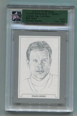 2011-12 ITG Ultimate Memorabilia 11th Edition Ultimate Base Card Silver #31 Mark Howe  #03/62 | Eastridge Sports Cards