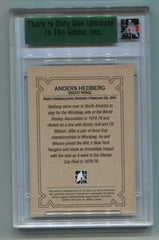 2006-07 ITG Ultimate Memorabilia 7th Edition Base Card Anders Hedberg #43/90 | Eastridge Sports Cards