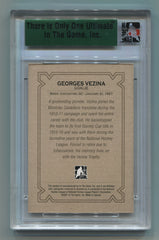 2006-07 ITG Ultimate Memorabilia 7th Edition Base Card Georges Vezina #17/90 | Eastridge Sports Cards