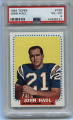 1964 Topps #159 John Hadl PSA 4 (Rookie) | Eastridge Sports Cards