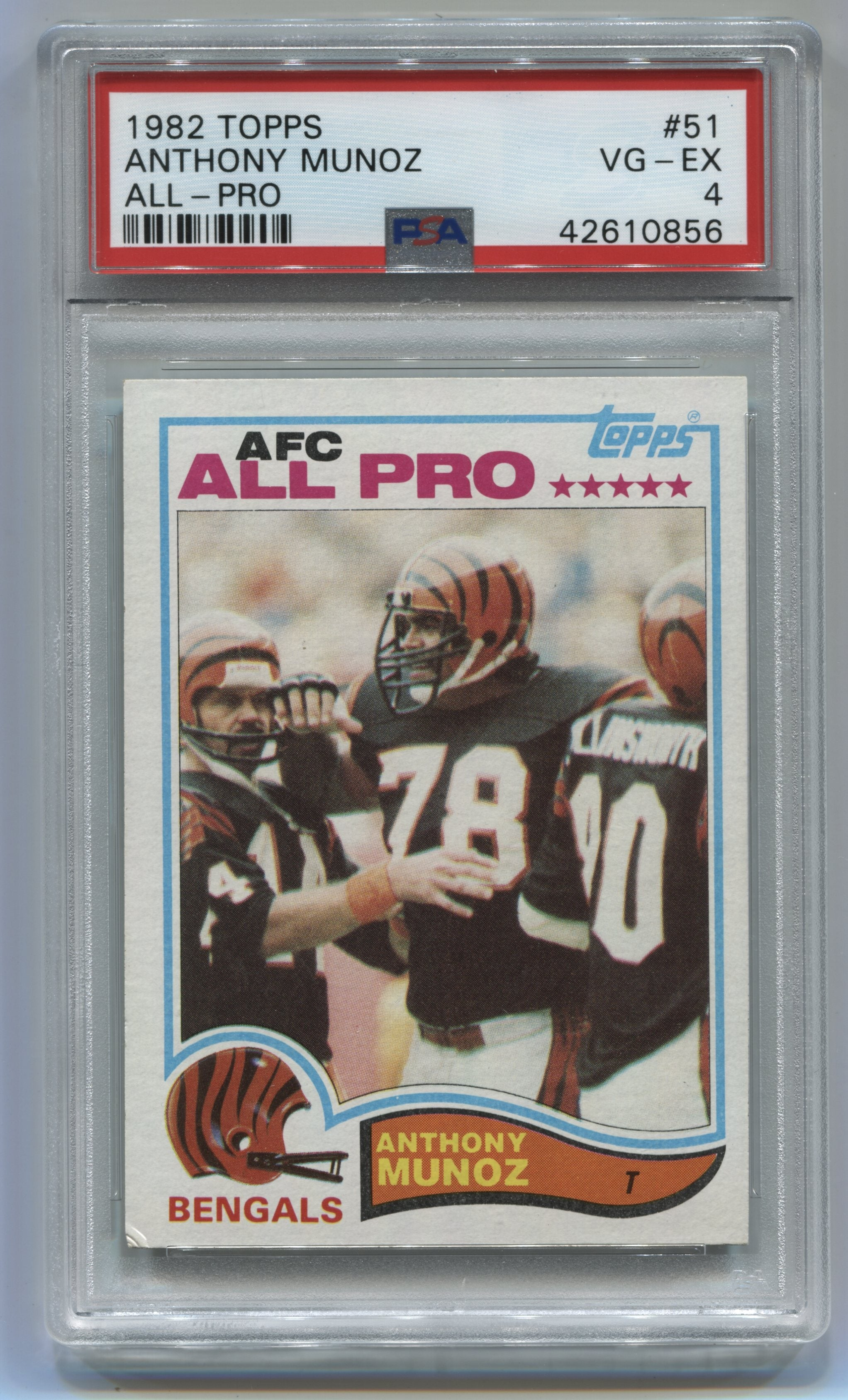 1982 Topps #51 Anthony Munoz PSA 4 (Rookie) | Eastridge Sports Cards