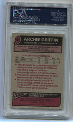 1977 Topps #269 Archie Griffin PSA 8 (Rookie) | Eastridge Sports Cards