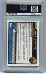 2010 Bowman Chrome Prospects #BCP137 Jose Altuve PSA 9 | Eastridge Sports Cards