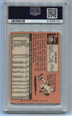 1969 Topps #85 Lou Brock PSA 5 | Eastridge Sports Cards