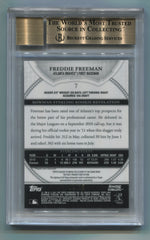 2011 Bowman Sterling Rookie Autographs Black Refractors #7 Freddie Freeman #02/25 BGS 9.5/10 | Eastridge Sports Cards