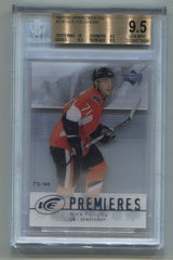 2007-08 Upper Deck Ice #224 Nick Foligno #73/99 BGS 9.5 | Eastridge Sports Cards