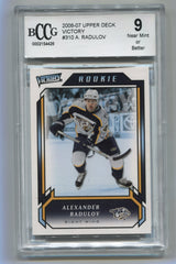 2006-07 Upper Deck Victory #310 Alexander Radulov BCCG 9 (Rookie) | Eastridge Sports Cards