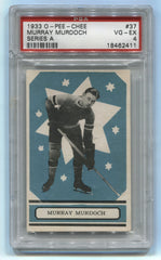 1933-34 O-Pee-Chee V304A #37 Murray Murdoch PSA 4 (Rookie) | Eastridge Sports Cards