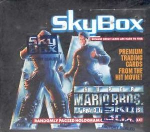 1993 Skybox Super Mario Bros. Movie Trading Cards Box | Eastridge Sports Cards