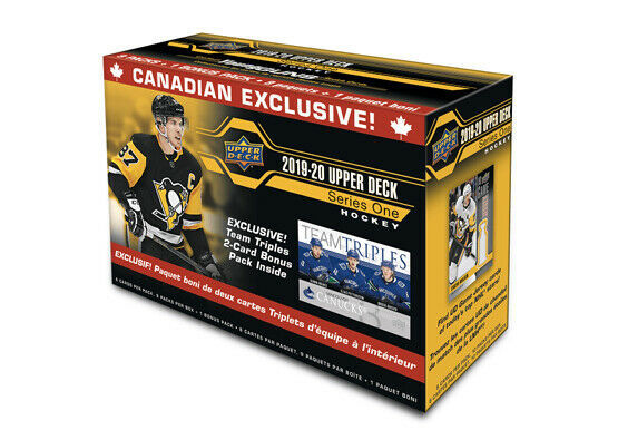 2019-20 UPPER DECK SERIES 1 HOCKEY TEAM TRIPLE BLASTER BOX | Eastridge Sports Cards