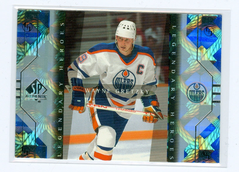 1999-00 SP Authentic Legendary Heroes #LH1 Wayne Gretzky | Eastridge Sports Cards