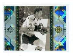 1999-00 SP Authentic Legendary Heroes #LH2 Bobby Orr | Eastridge Sports Cards