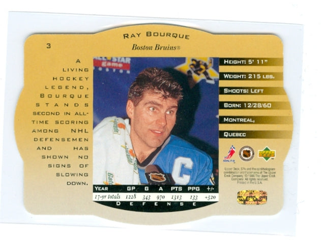 1996-97 SPX Gold #03 Ray Bourque | Eastridge Sports Cards