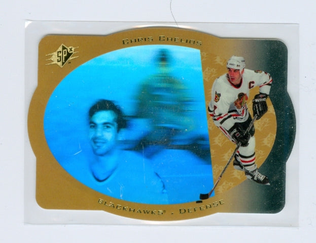 1996-97 SPX Gold #06 Chris Chelios | Eastridge Sports Cards