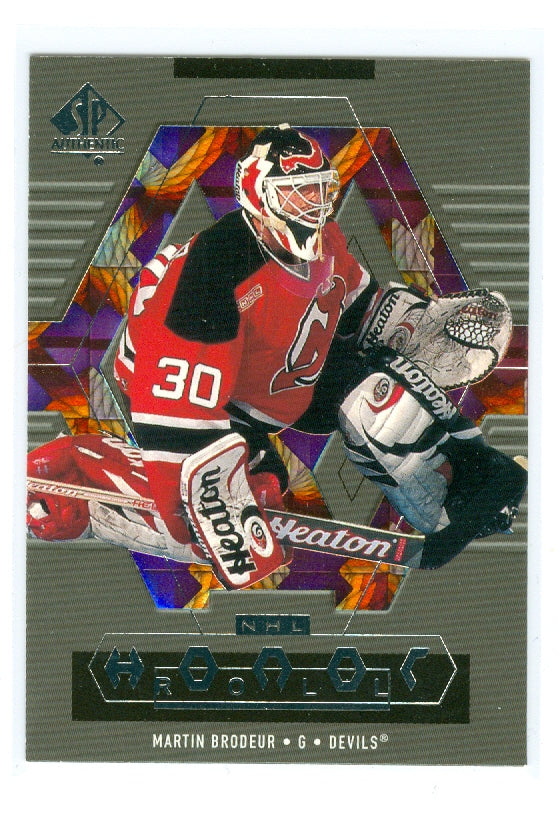1999-00 SP Authentic Honor Roll #HR4 Martin Brodeur | Eastridge Sports Cards