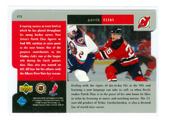 1997-98 Black Diamond Premium Cut Quadruple Diamond Horizontal #PC08 Patrik Elias | Eastridge Sports Cards