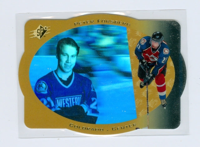1996-97 SPX Gold #08 Peter Forsberg | Eastridge Sports Cards
