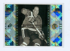 1999-00 SP Authentic Legendary Heroes #LH5 Bobby Hull | Eastridge Sports Cards