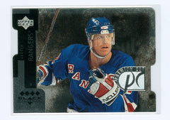 1997-98 Black Diamond Premium Cut Quadruple Diamond Horizontal #PC10 Brian Leetch | Eastridge Sports Cards