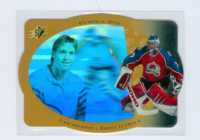 1996-97 SPX Gold #10 Patrick Roy | Eastridge Sports Cards