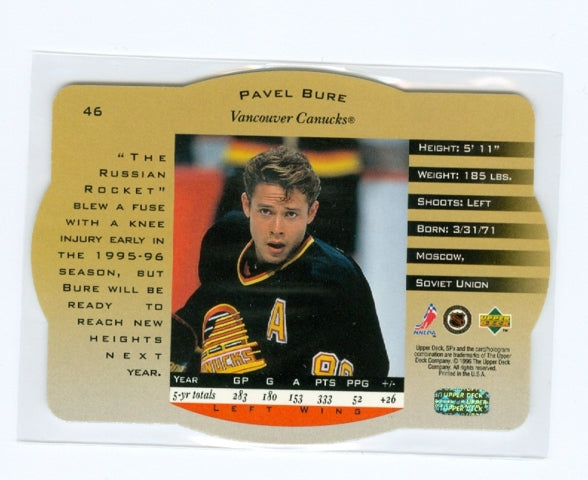 1996-97 SPX Gold #46 Pavel Bure | Eastridge Sports Cards